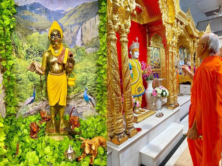 અખાત્રીજ પર ભગવાનને ચંદનનો શણ� - Divya Bhaskar