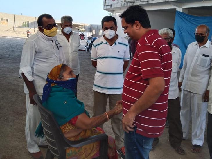પોરબંદરમાં મોકર ગામે કોવિડ કેર સેન્ટર કાર્યરત કરાયું - Divya Bhaskar