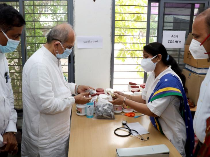 તાઉ-તે વાવાઝોડાની સ્થિતિમાં વેન્ટિલેટર અને ઓક્સિજનના દર્દીઓ માટે પૂરતી વ્યવસ્થા કરવામાં આવી છે