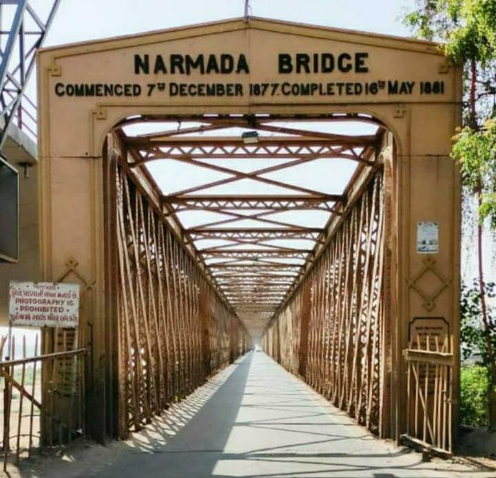 ભરૂચનું ગૌરવ એવો ગોલ્ડન બ્રીજ 140 વર્ષનો થયો, વર્ષ1881માં આજના દિવસે ખુલ્લો મુકાયો હતો ભરૂચ,Bharuch - Divya Bhaskar