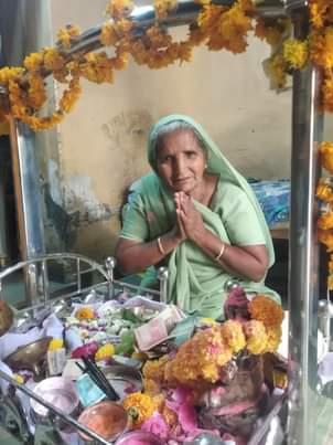 ખેરાલુના 66 વર્ષના ભગીબાએ હોમ આઇસોલેશમાં રહી કોરોનાને હરાવવામાં સફળતા મેળવી મહેસાણા,Mehsana - Divya Bhaskar
