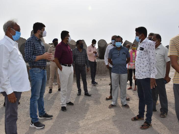 તાઉ-તે વાવાઝોડાની સંભવિત અસરોને પહોંચી વળવા જૂનાગઢ જિલ્લા વહીવટીતંત્ર સજ્જ બન્યું જુનાગઢ,Junagadh - Divya Bhaskar