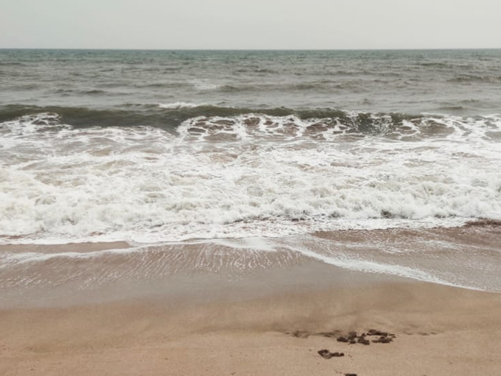 સમુદ્રમાં કરંટ જોવા મળ્યો હતો