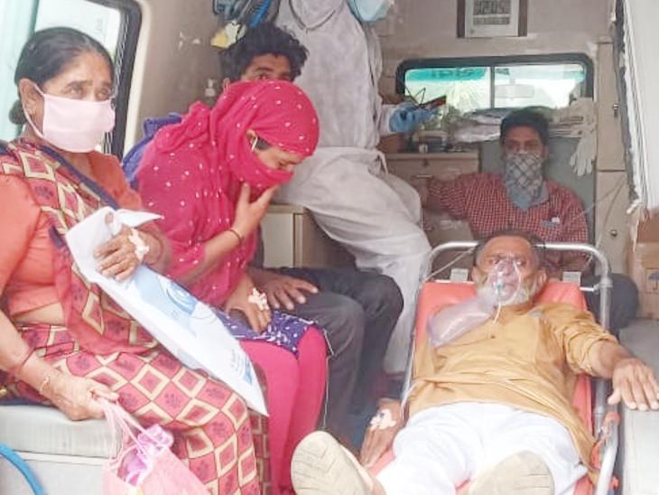 ભુજના મસ્કા એન્કરવાલા હોસ્પિટલના 46 દર્દીને સમરસ હોસ્પિટલમાં ખસેડાયા.