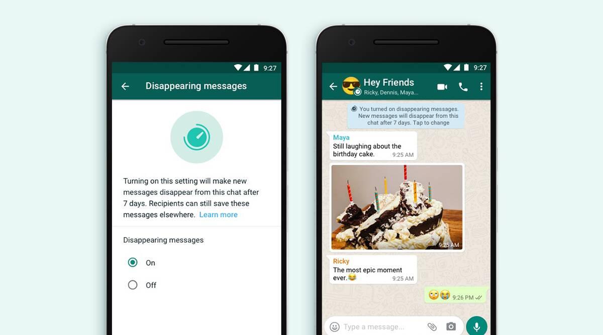 વ્હોટ્સએપ યુઝર હવે બાય ડિફોલ્ટ 'ડિસઅપિયરિંગ મેસેજ' ફીચર ઓન રાખી શકશે, ટૂંક સમયમાં iOS યુઝર્સ પર ટેસ્ટિંગ શરૂ થશે|ગેજેટ,Gadgets - Divya Bhaskar