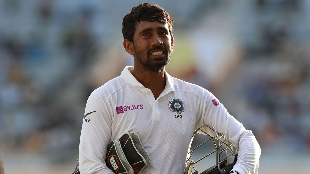 રિદ્ધિમાન સાહાનો કોરોના રિપોર્ટ નેગેટિવ, 24 મેના રોજ મુંબઈમાં ટીમ સાથે જોડાશે ક્રિકેટ,Cricket - Divya Bhaskar