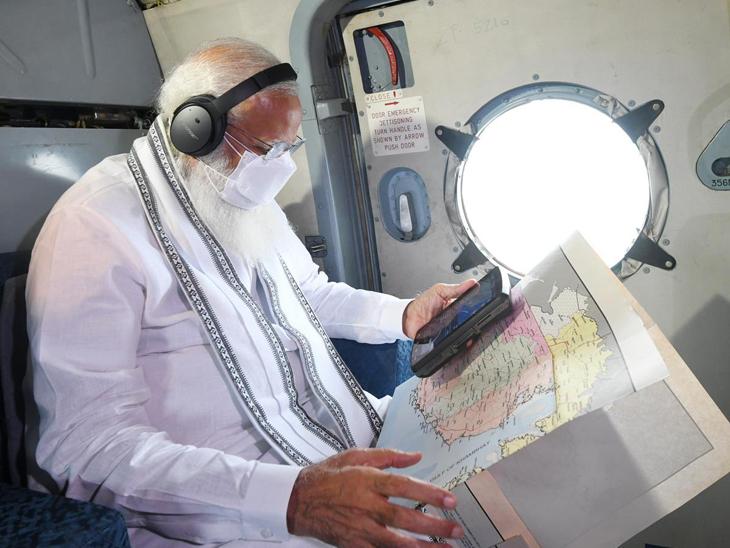 પીએમ મોદીએ ગુજરાતને તત્કાલ રૂ.1000 કરોડની સહાય આપવાની જાહેરાત કરી.