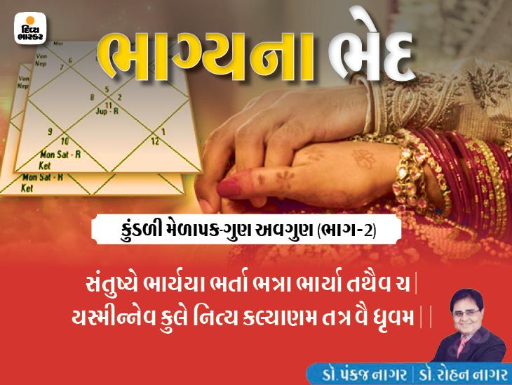 જે કુળમાં પત્નીથી પતિ અને પતિથી પત્ની સંતોષકારક જીવન જીવે છે તે વંશનું મંગળ ચોક્કસપણે થાય છે|જ્યોતિષ,Jyotish - Divya Bhaskar