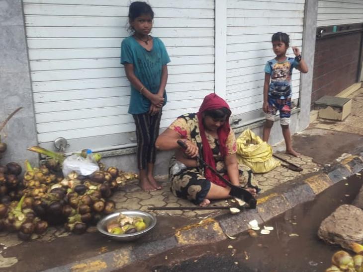 એવા 3 મજબૂર લોકોની મજબૂત કહાની વરસાદ અને વાવાઝોડામાં પણ ગુજરાન માટે બહાર નીકળ્યા રાજકોટ,Rajkot - Divya Bhaskar