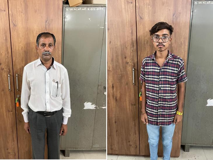 45 હજારનો પગારદાર પટાવાળો 12 હજારની લાંચ લેતા ઝડપાયો સુરત,Surat - Divya Bhaskar