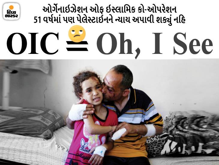 57 મુસ્લિમ દેશ અને આશરે 180 કરોડની વસ્તી, 90 લાખની જનસંખ્યા વાળા ઇઝરાયલને રોકવા અસમર્થ; કારણ- બધાને પોતાની ચિંતા ઈન્ડિયા,National - Divya Bhaskar