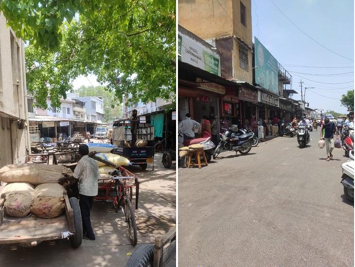 અમદાવાદમાં 24 દિવસે બજારો ફરી ધમધમતાં થયાં, લોકો માસ્ક સાથે બજારોમાં નજરે પડ્યા, સરકારની રાહતથી વેપારીઓ ખુશ અમદાવાદ,Ahmedabad - Divya Bhaskar