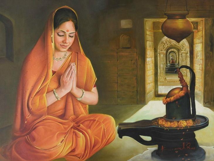 સોમવારે શિવ-શક્તિની પૂજા કરવી, લાંબી ઉંમર અને સારા સ્વાસ્થ્ય માટે પ્રદોષ વ્રત કરવું ધર્મ,Dharm - Divya Bhaskar