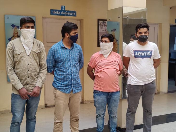 અમદાવાદામાં લોકડાઉનમાં ગાડી ભાડે મેળવી પરત ન આપતી ટોળકી ઝડપાઈ, ટ્રાફિક કોન્સ્ટેબલ સહીત 4 આરોપીની ધરપકડ|અમદાવાદ,Ahmedabad - Divya Bhaskar