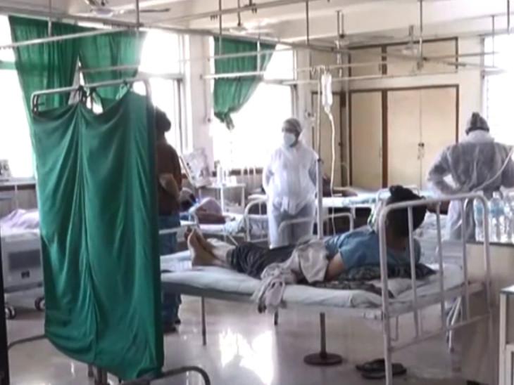 સુરત સિવિલ હોસ્પિટલમાં મ્યુકોરમાઇકોસિસ માટે ખાસ વોર્ડ ઉભો કરાયો છે. - Divya Bhaskar