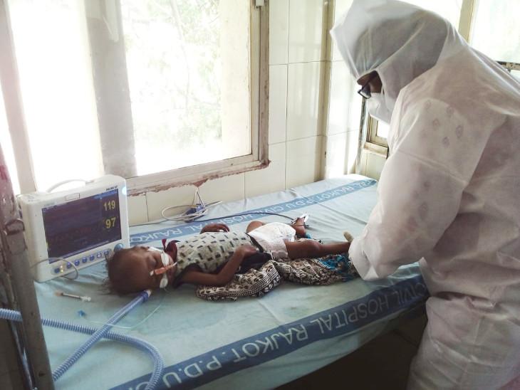 બે દિવસ ઓક્સિજન વગર રાખવામાં આવ્યો હતો - Divya Bhaskar