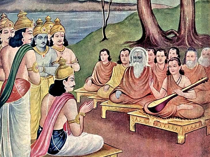 શાસ્ત્રોમા નારદજીને ભગવાનનું મન કહેવામાં આવે છે, પોતાના જ્ઞાન અને ભક્તિ દ્વારા દેવતાઓના ઋષિ બન્યા|ધર્મ,Dharm - Divya Bhaskar
