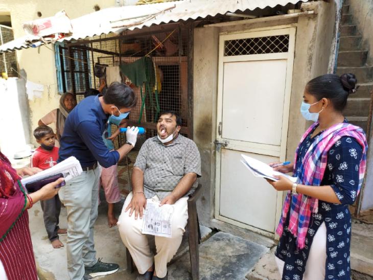 બનાસકાંઠા જિલ્લામાં મ્યુકોરમાઇકોસિસ રોગને પ્રસરતો અટકાવવા હાથ ધરાયેલા સર્વેલન્સને 10 શંકાસ્પદ કેસ સામે આવ્યા|પાલનપુર (બનાસકાંઠા),Palanpur (Banaskantha) - Divya Bhaskar