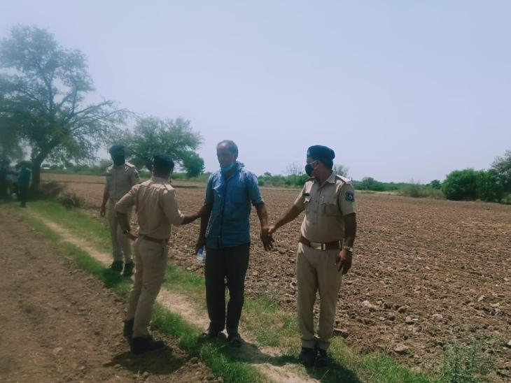 ચાણસ્મામાં પ્રેમી સાથે મળી પત્નીએ પતિની હત્યા કરી લાશને દાટી દીધી, 3 મહિના બાદ કંકાલ મળ્યું|પાટણ,Patan - Divya Bhaskar