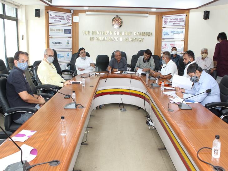 દક્ષિણ ગુજરાતના હોટલ એન્ડ રેસ્ટોરન્ટ ઉદ્યોગને બચાવવા અને આર્થિક મુશ્કેલીમાંથી બહાર લાવવા માટે ચેમ્બર દ્વારા વિવિધ મંત્રાલયોને રજૂઆત સુરત,Surat - Divya Bhaskar