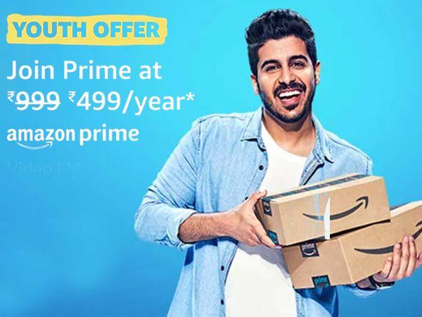 999 રૂપિયાની પ્રાઈમ એન્યુઅલ મેમ્બરશિપ માત્ર ₹499માં ખરીદવાની તક, 18થી 24 વર્ષના યુઝર્સ આ રીતે ફાયદો મેળવો|ગેજેટ,Gadgets - Divya Bhaskar