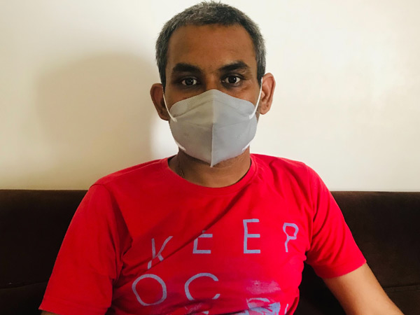 મોરબીના વેપારી સતત બે મહિના સુધી કોરોના સામે અને બાદમાં મ્યુકર સામે લડ્યા, અંતે બીમારીને માત આપી|મોરબી,Morbi - Divya Bhaskar