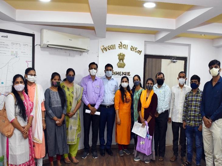 ગુજરાતની સરકારી ગ્રાન્ટેડ ઉચ્ચતર માધ્યમિક શાળાઓ માટે 2938 શિક્ષણ સહાયકોને નિયુક્તિ પત્ર એનાયત કરાયા|અમદાવાદ,Ahmedabad - Divya Bhaskar