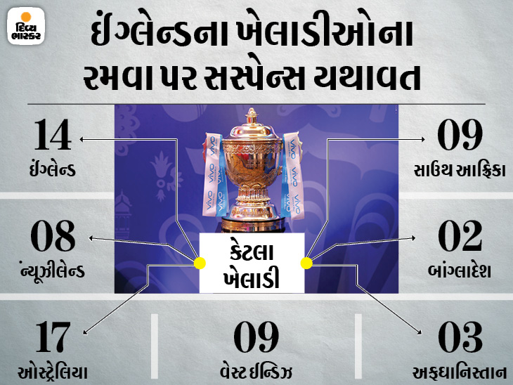 રિપોર્ટમાં દાવો- ફેઝ 2માં ગેરહાજર ખેલાડીઓનું વેતન કપાશે; સપ્ટેમ્બર-ઓક્ટોબર દરમિયાન UAEમાં 31 મેચ યોજાશે ક્રિકેટ,Cricket - Divya Bhaskar