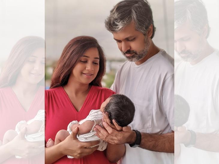 બોલિવૂડ સિંગર શ્રેયા ઘોષાલે દીકરાની પહેલી તસવીર શૅર કરી, 'દેવ્યાન' નામ પાડ્યું|બોલિવૂડ,Bollywood - Divya Bhaskar