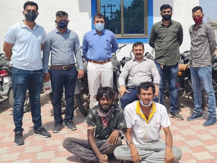 ગોંડલના ગુંદાળા સહિત 3 જિલ્લામાં બાઈક અને મોબાઈલ ચોરી કરનાર બે શખ્સોની પોલીસે ધરપકડ કરી, 2 લાખથી વધુનો મુદ્દામાલ જપ્ત રાજકોટ,Rajkot - Divya Bhaskar