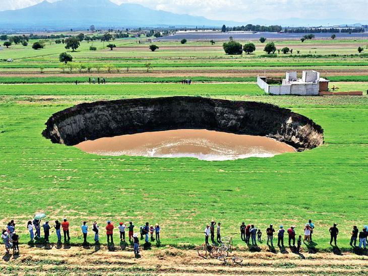 ક્યાં પડ્યો વિશ્વનો સૌથી વિશાળ ભૂવો!: 7200 ફૂટની ઊંચાઈએ ખીલ્યો બગીચો; અહીંથી કરો રેલવે, સડક કે જળમાર્ગે યુરોપની સફર વર્લ્ડ,International - Divya Bhaskar