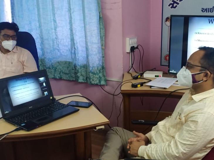 તંત્ર દ્વારા બેઠકોનો દોર યોજીને તૈયારીઓ કરવામાં આવી રહી છે - Divya Bhaskar