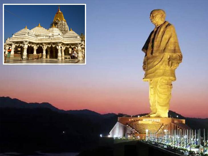 કોરોનાને કારણે રાજ્યમાં ધાર્મિક સ્થળો પર ભક્તોને નો-એન્ટ્રી, પણ આવતીકાલથી સ્ટેચ્યૂ ઓફ યુનિટીની મુલાકાતે આવતા પ્રવાસીઓનું વેલકમ|અમદાવાદ,Ahmedabad - Divya Bhaskar