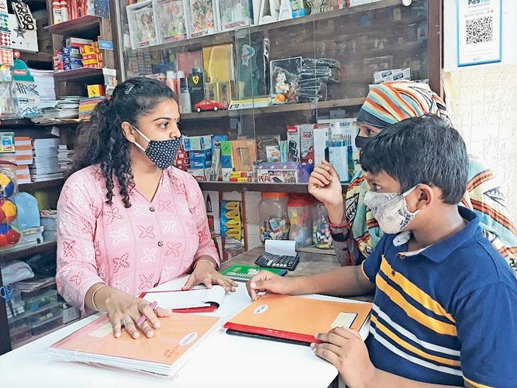 ઓનલાઇન શિક્ષણના પગલે સ્ટેશનર્સને 33 કરોડનો ફટકો આણંદ,Anand - Divya Bhaskar