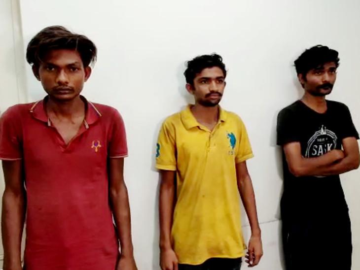 ગોંડલમાં સ્પા સંચાલકની 3 શખ્સે તિક્ષ્ણ હથિયારના 30 ઘા મારી હત્યા કરી'તી, સવા મહિને ત્રણેય હત્યારા હરિદ્વારથી ઝડપાયા|રાજકોટ,Rajkot - Divya Bhaskar