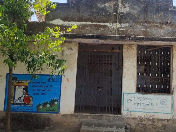 લોધિકાના 3 ગામમાંથી 2ની પંચાયત સપ્તાહમાં બે વાર જ ખૂલે છે|રાજકોટ,Rajkot - Divya Bhaskar