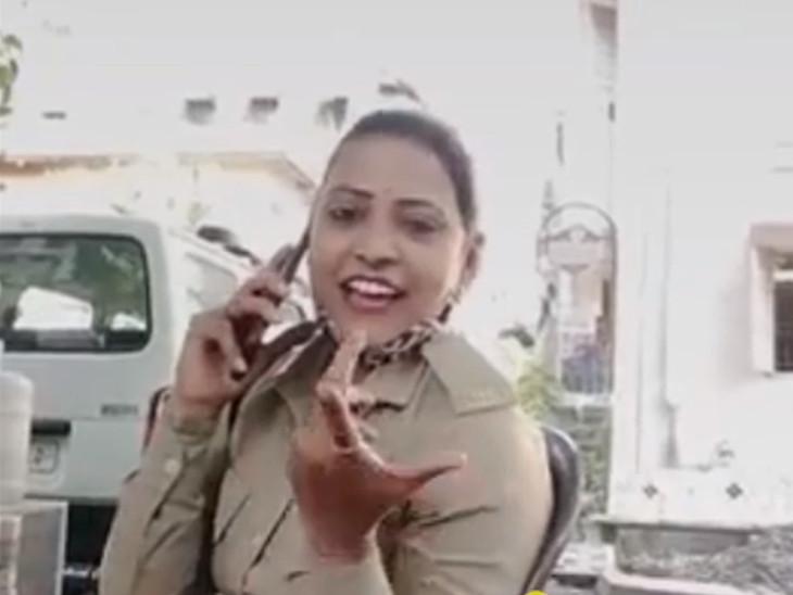 સુરતમાં હોમગાર્ડની મહિલા કર્મચારીએ વર્દીમાં સોશિયલ મીડિયા માટેના વીડિયો બનાવ્યા, ઓફિસરે તપાસ સોંપી સુરત,Surat - Divya Bhaskar