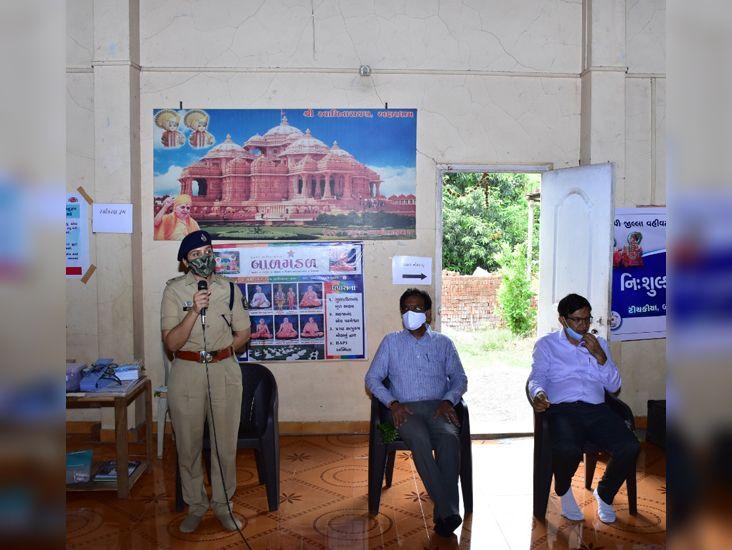 અફવાઓથી દૂર રહી તમામે વેક્સિન લઈ સુરક્ષિત થવું જરૂરી- પોલીસ વડા|વ્યારા (તાપી),Vyara (Tapi) - Divya Bhaskar