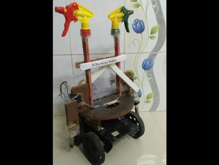 વાવેતરથી લઇ પાક ઉતારી શકે તેવો રોબોટ બનાવ્યો|જેસર,Jesar - Divya Bhaskar
