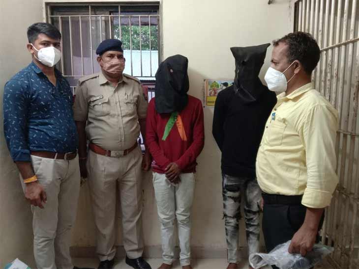 વાઘોડિયા પોલીસે 2 આરોપીઓને પકડી પાડ્યા છે - Divya Bhaskar