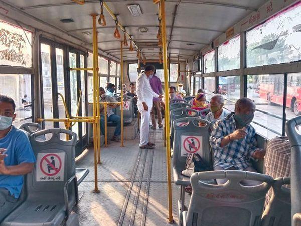 14 જૂનથી AMTSની 575 અને BRTSની 250 બસો થઈને કુલ 825 બસો સંચાલનમાં મુકાશે