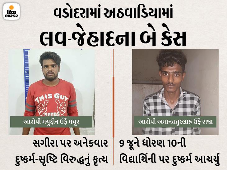 આરોપી મયુદ્દીન ઉર્ફે મયૂરની ધરપકડ કરવામાં આવી. - Divya Bhaskar