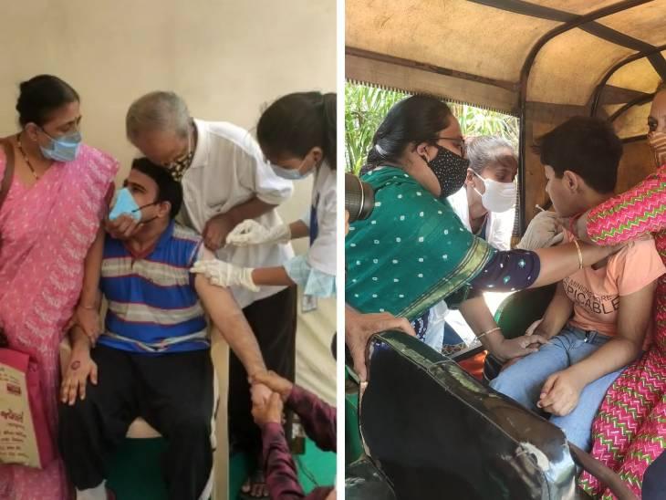 અમદાવાદમાં દિવ્યાંગો માટે રસીકરણનું આયોજન