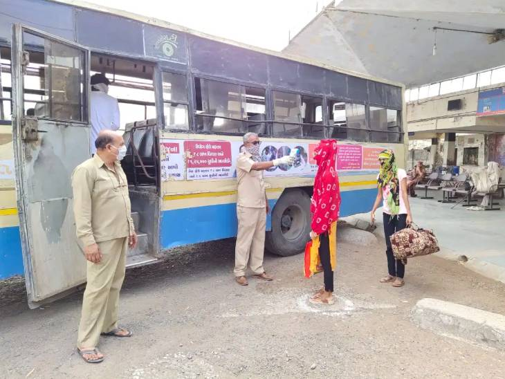 મહારાષ્ટ્ર અને રાજસ્થાનમાં પરિવહન નિગમને સહાય મળી, ગુજરાત ST કર્મચારી મંડળે સરકાર પાસે રાહત પેકેજની માંગ કરી|ગાંધીનગર,Gandhinagar - Divya Bhaskar