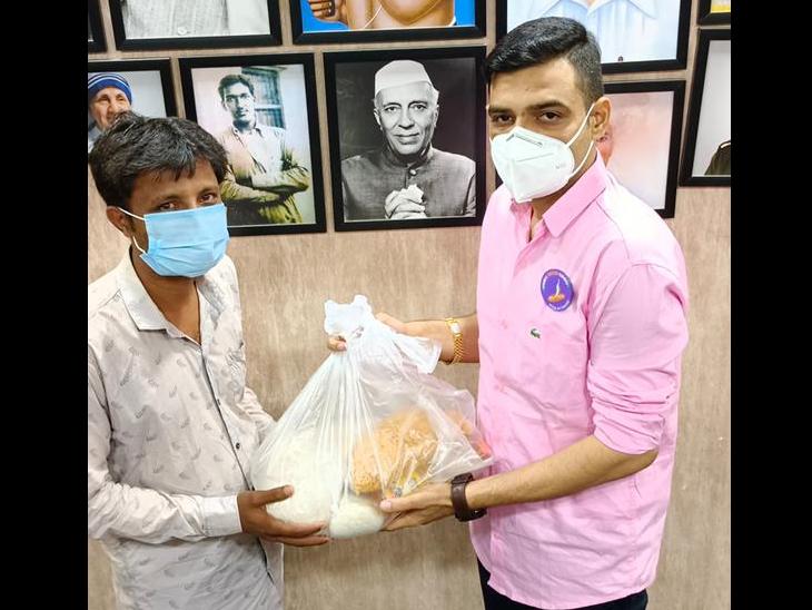 રાશનકિટ સાથે આરોગ્ય સેવા દેવાની ખાતરી - Divya Bhaskar