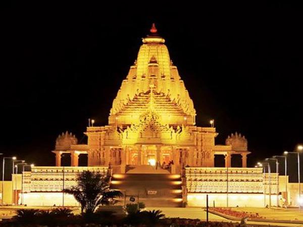 કાગવડ ખોડલધામ મંદિર. - Divya Bhaskar