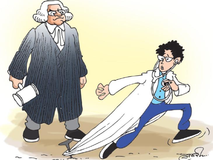 આ લોકો દર્દીની સારવાર કરશે! જે ડૉક્ટરોએ પરીક્ષા પાસ નથી કરી તેમના હાથમાં દર્દીનો જીવ કેવી રીતે સોંપી શકાય? સુપ્રીમકોર્ટ|ઈન્ડિયા,National - Divya Bhaskar