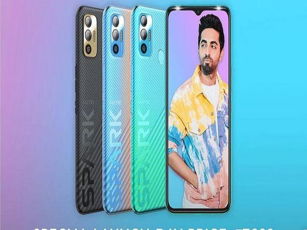 48MP પ્રાઈમરી રિઅર કેમેરા અને 6000mAhની બેટરીથી સજ્જ 'ટેક્નો સ્પાર્ક 7T' ભારતમાં લોન્ચ થયો, કિંમત ₹8999|ગેજેટ,Gadgets - Divya Bhaskar