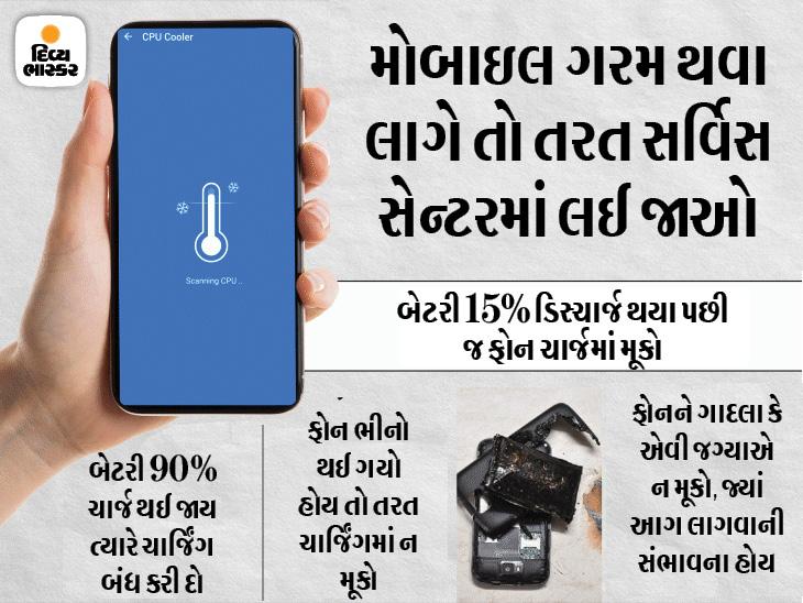 વારંવાર નહિ સમયસર મોબાઈલ ફોન ચાર્જ કરો, લોન્ગ અને સેફ બેટરી લાઈફ માટે એક્સપર્ટ પાસેથી ટિપ્સ જાણો|ગેજેટ,Gadgets - Divya Bhaskar