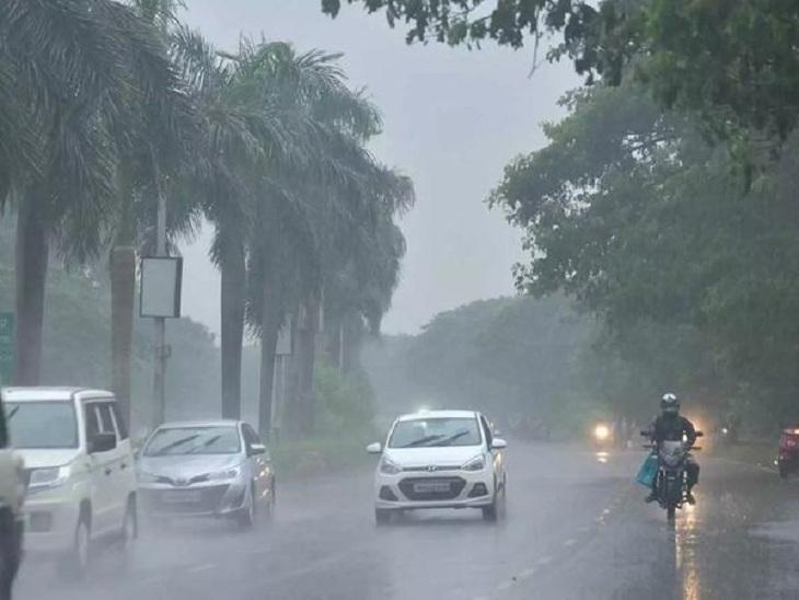 સમગ્ર દક્ષિણ ગુજરાત અને સૌરાષ્ટ્રના કેટલાક વિસ્તારોમાં 18 જૂન સુધી ગાજવીજ સાથે વરસાદ પડી શકે|અમદાવાદ,Ahmedabad - Divya Bhaskar